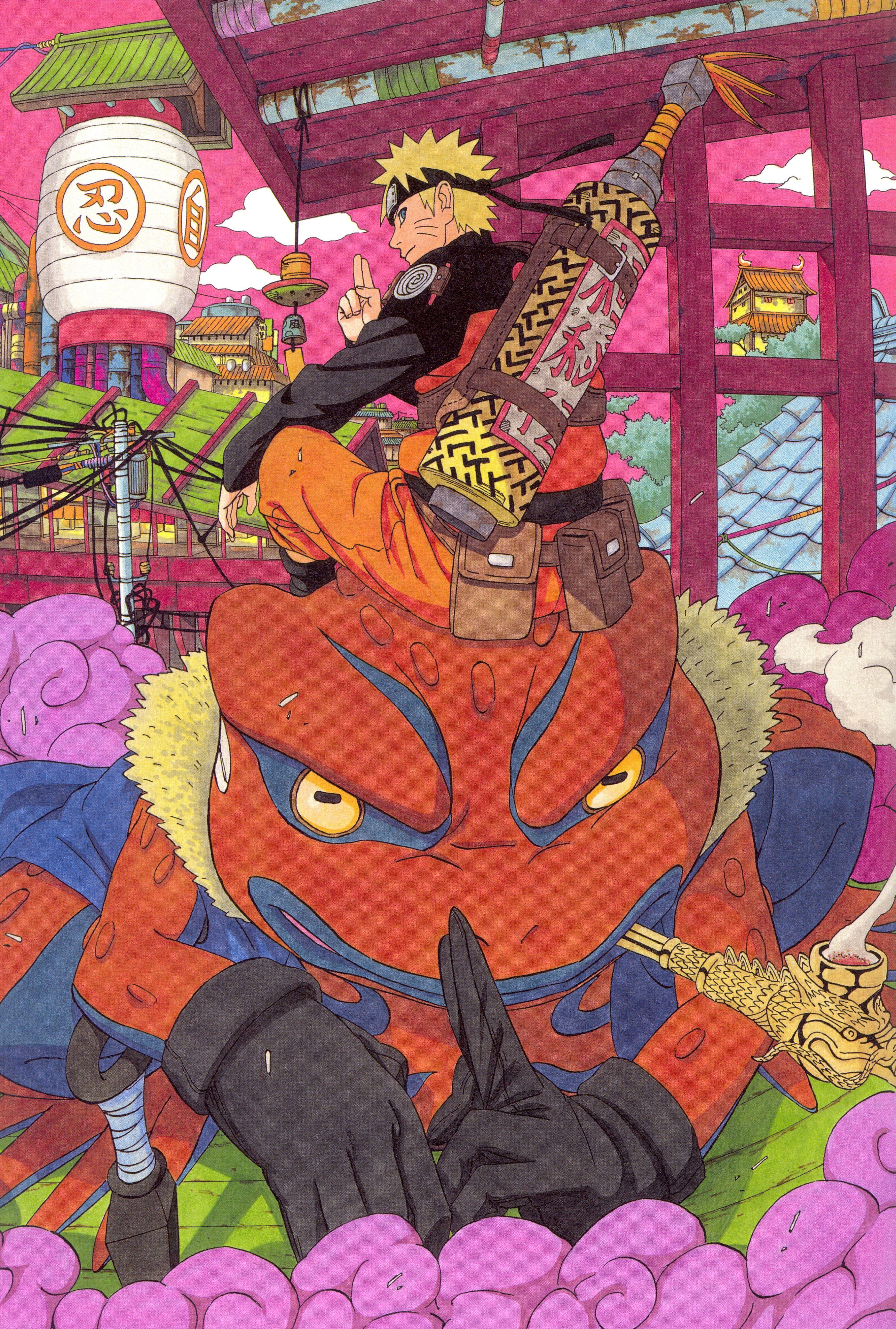 Naruto Illustration Naruto Shippuuden Masashi Kishimoto Uzumaki