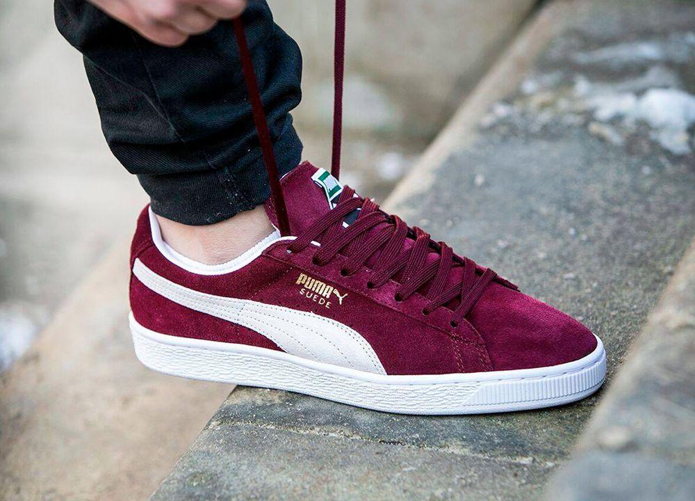big sale 771f6 2b562 SPORTSWEAR FIX:Puma Suede Classic - Cabernet. | Sneaker ...