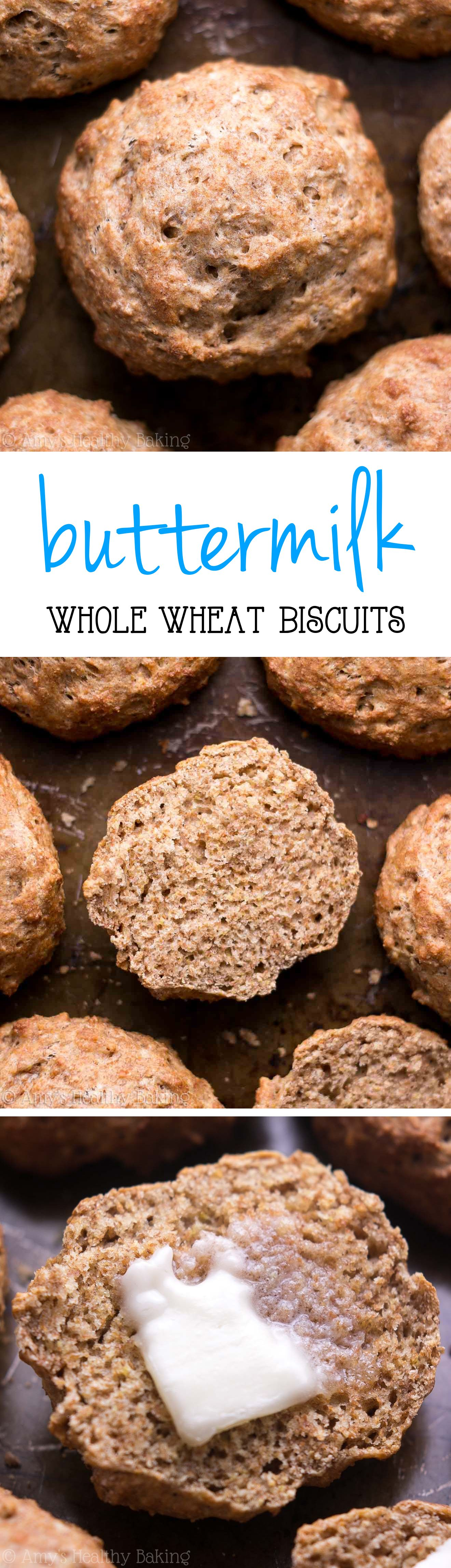 Whole Wheat Buttermilk Biscuits Healthy Baking Whole Wheat Biscuits Baking Recipes