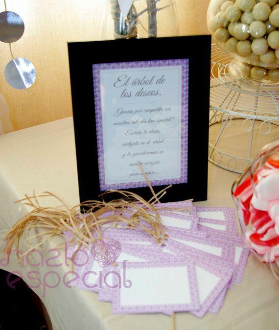 Cartel y etiquetas para el arbol de los deseos by hazloespecial cartel y etiquetas para el arbol de los deseos by hazloespecial fandeluxe Images