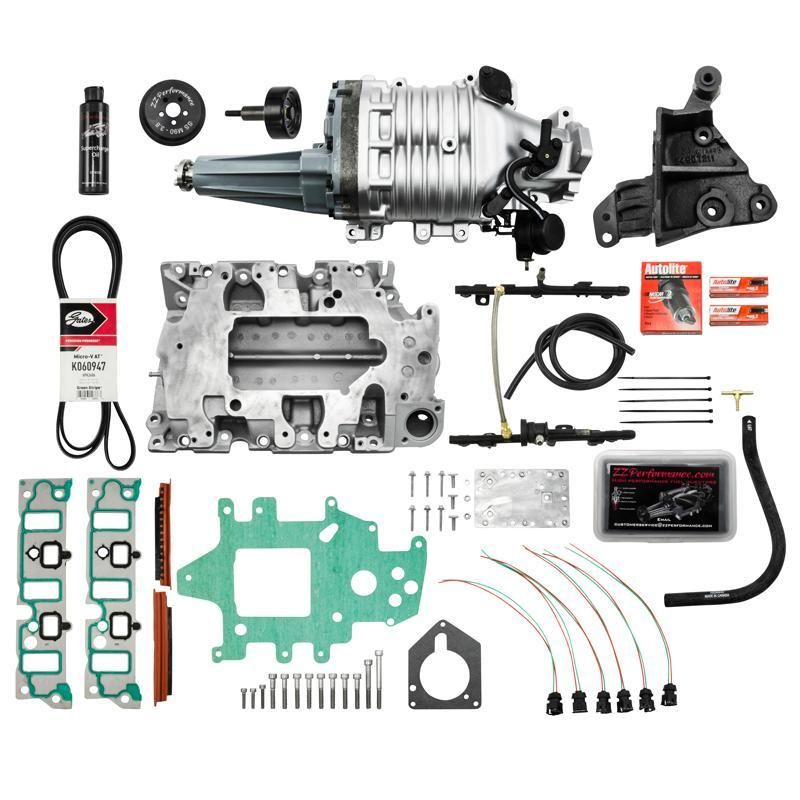 L36 Supercharger Kit Supercharger Map Sensor Bolts And Washers
