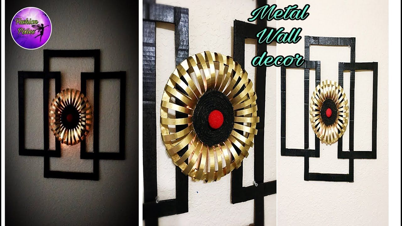 Diy Wall Hanging Craft Best Out Of Waste Handmade Things Craft