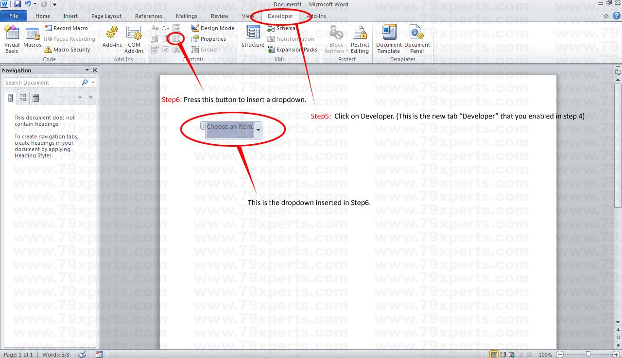 The Extraordinary How To Add Drop Down Menu In Microsoft Word 2010 Inside Word 2010 Templates A Microsoft Word 2010 Business Template Microsoft Word Templates
