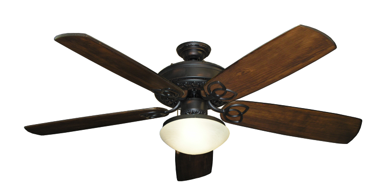 Renaissance Oil Rubbed Bronzeceiling Fan With 60 Series 450 Arbor Blades In Dark Walnut W 167 Low Profile Ceiling Fan With Light Ceiling Fan Ceiling Fan Parts