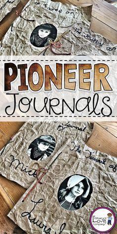 Photo of Classroom DIY:  Pioneer Journals