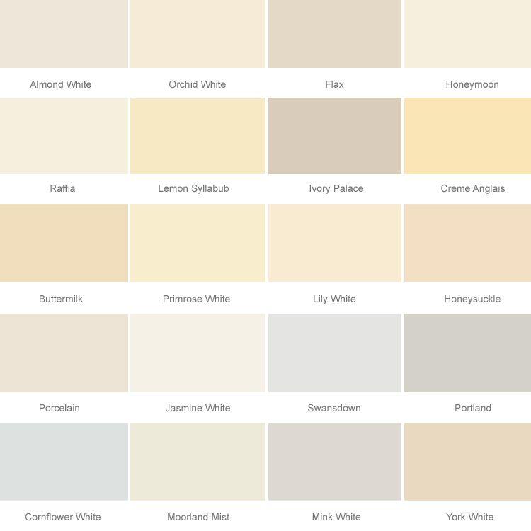 Dulux Colour Chart White