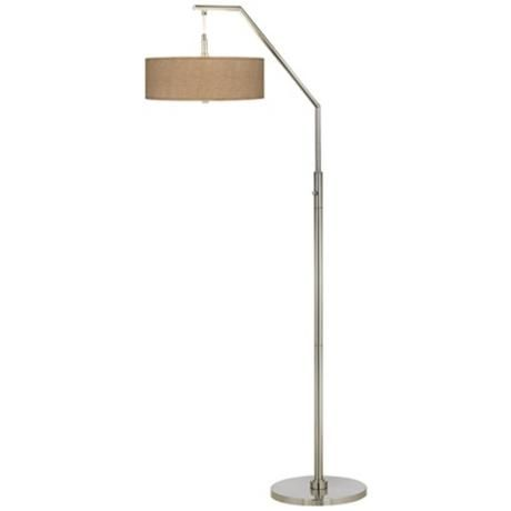 Woven burlap arc floor lamp style h5361 2w555 arc floor woven burlap arc floor lamp style h5361 2w555 mozeypictures Image collections