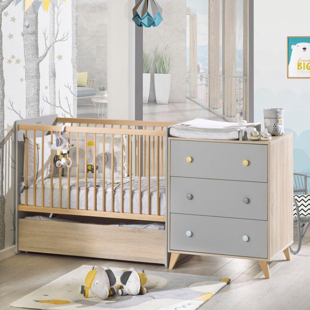 Tiroir De Lit Evolutif Combine Agathe De Sauthon Passion Decoration Chambre Bebe Lit Enfant Chambre Enfant