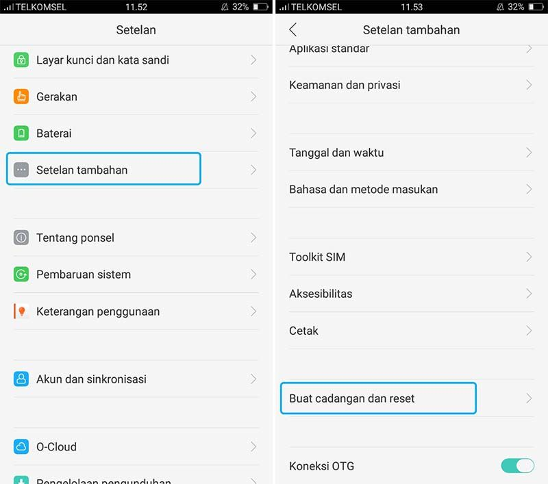 2 Cara Factory Reset Smartphone Android Terbaru Dianisa Com Aplikasi Smartphone Layar Kunci