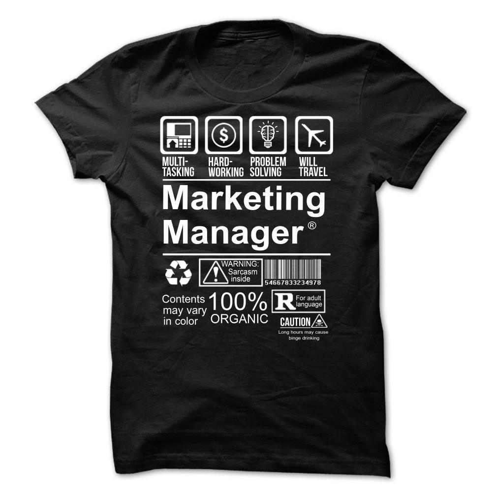 Hot Seller - MARKETING MANAGER T Shirt, Hoodie, Sweatshirt