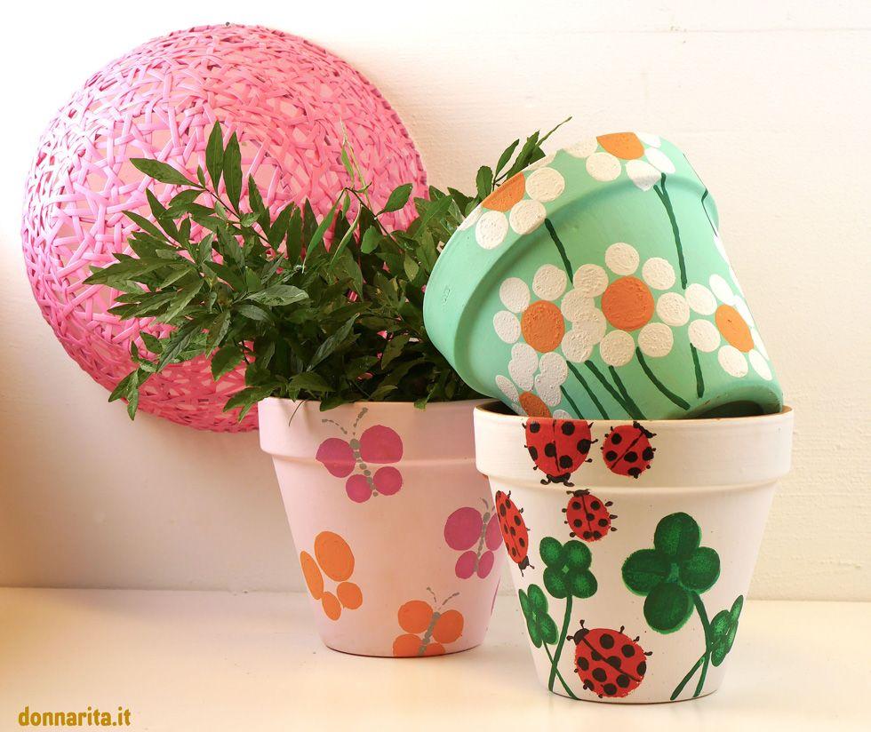 Decorare Vasi Di Terracotta.Diamo Nuova Vita Ai Vecchi Vasi Di Terracotta Pots Terracotta
