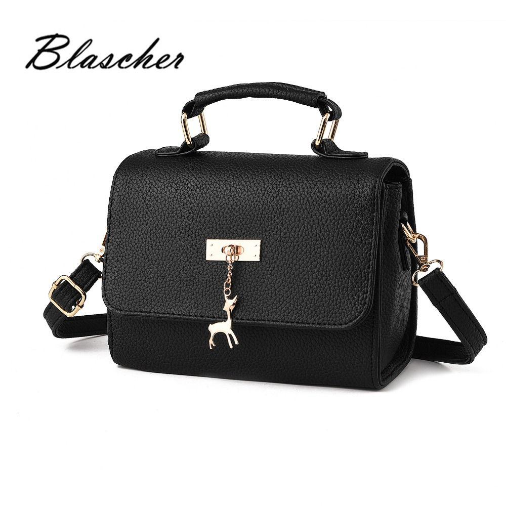 c72281120a 2017 New Women Leather Handbags strap shoulder bag Fashion PU Leather  designer handbags summer Crossbody Bags WB019