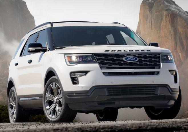 2018 Ford Explorer Sport Price Interior Release Date Colors