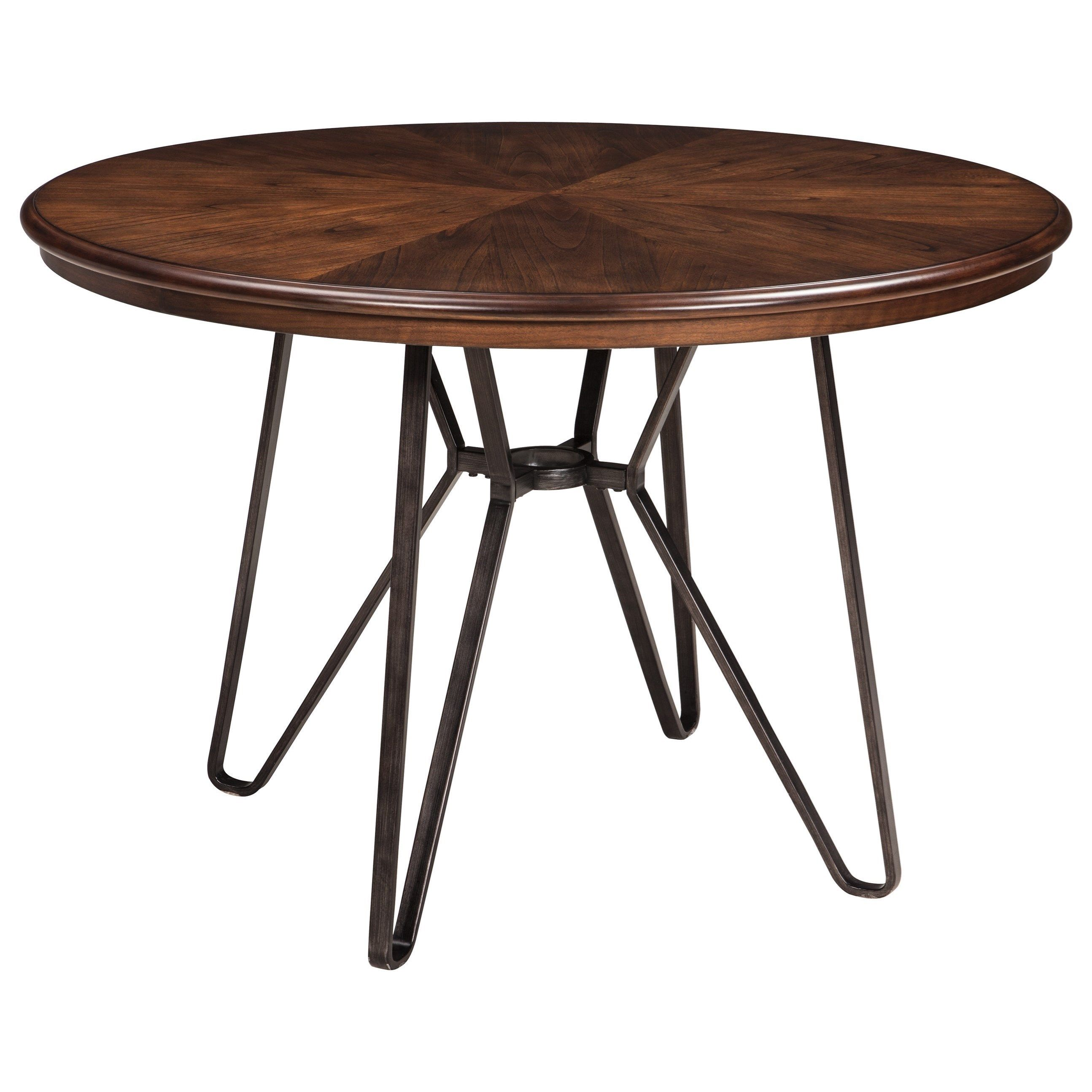 Centiar Round Dining Room Table By Signature Design By Ashley