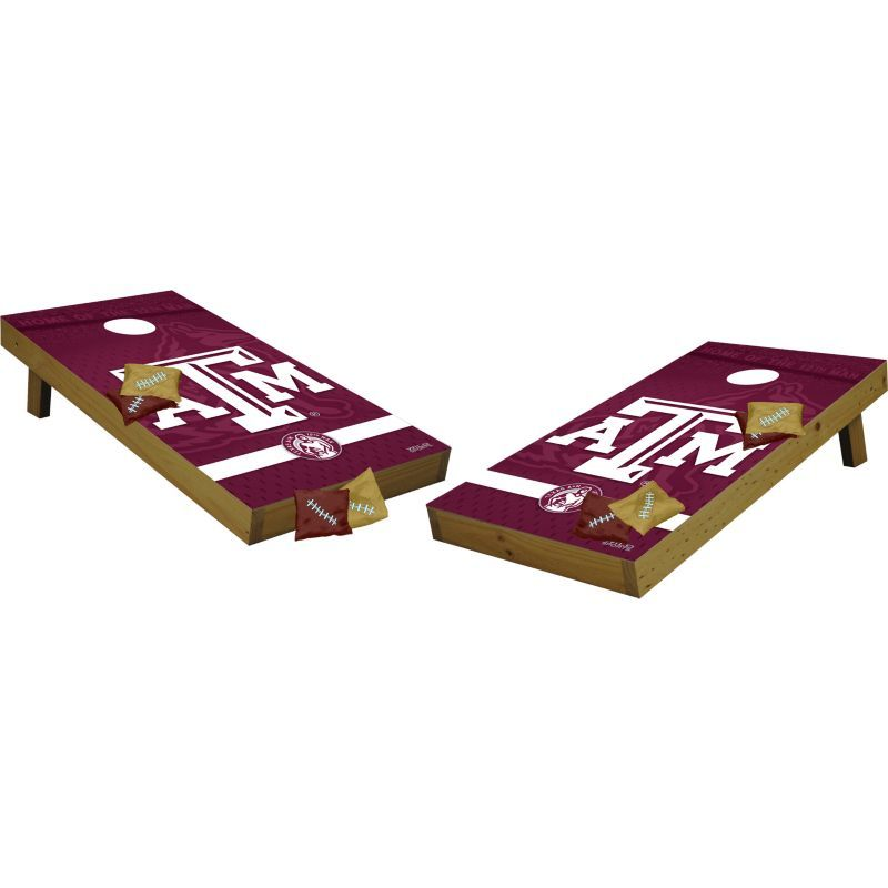 Pleasing Wild Sports 2 X 4 Texas Am Aggies Tailgate Bean Bag Toss Ibusinesslaw Wood Chair Design Ideas Ibusinesslaworg