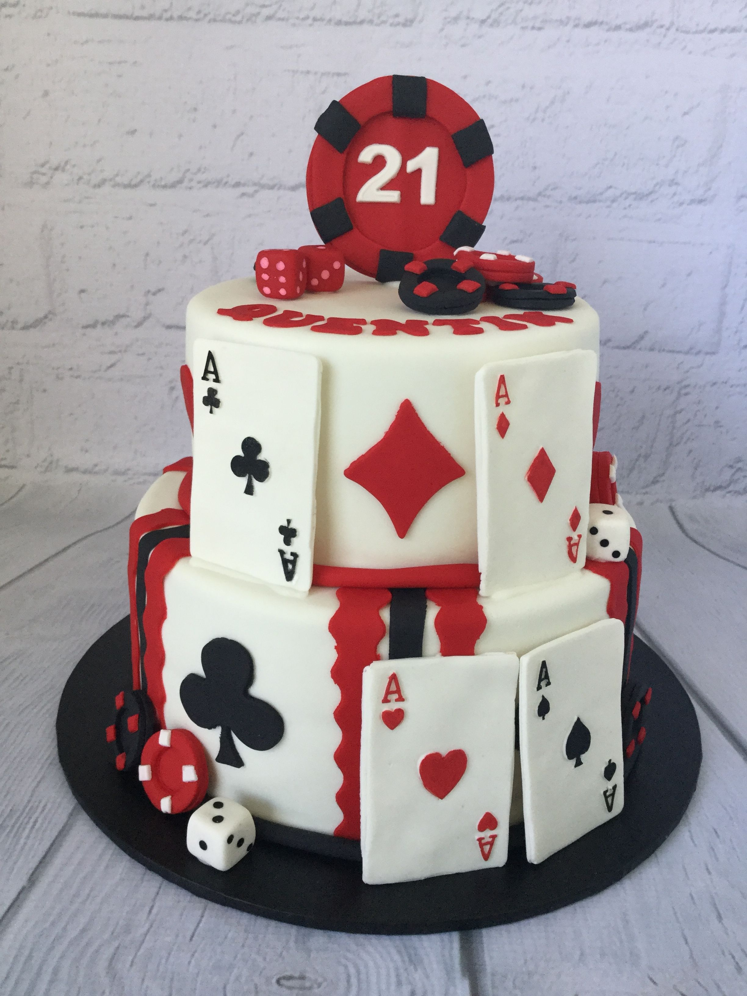 Casino theme cake Casino cakes, Themed cakes, Cake for
