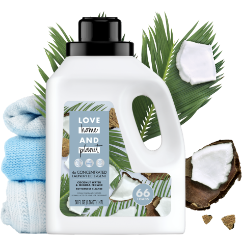 Coconut Water Mimosa Flower Laundry Detergent Love Home And
