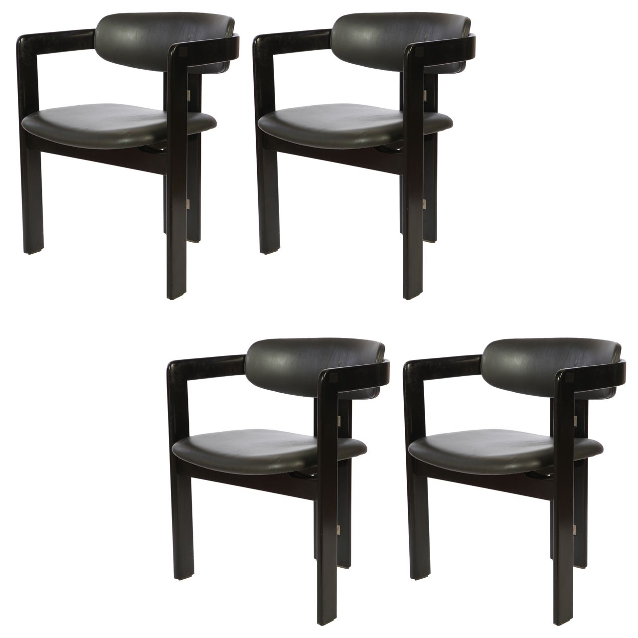 1stdibs Set Of Pamplona Dining Chairs By Augusto Savini