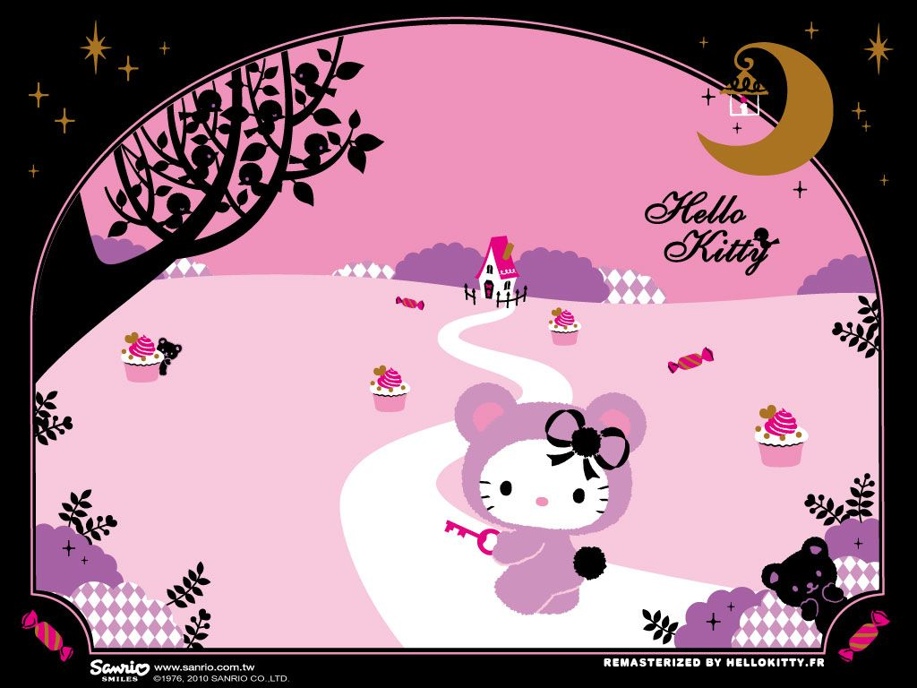 hello kitty halloween wallpapers | hellokitty.fr - le site des