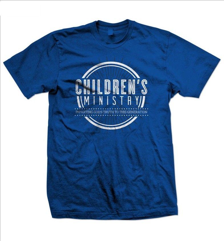 Childrenu0027s Ministry Royal Blue Short Sleeve T Shirt