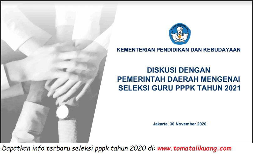 17++ Jadwal ujian seleksi guru pppk 2021 formasi cpns