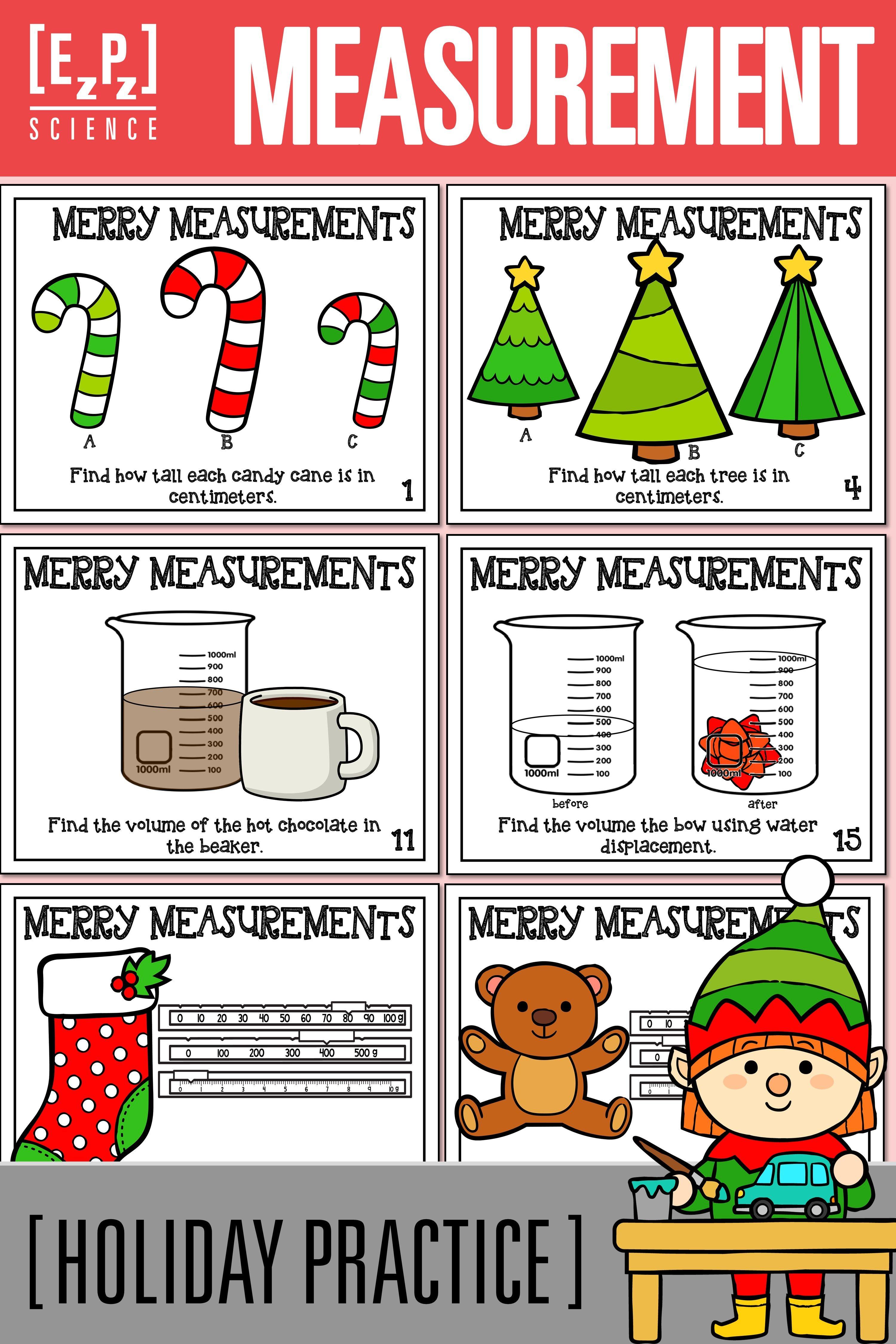 Scientific Measurements Merry Metric Measurements