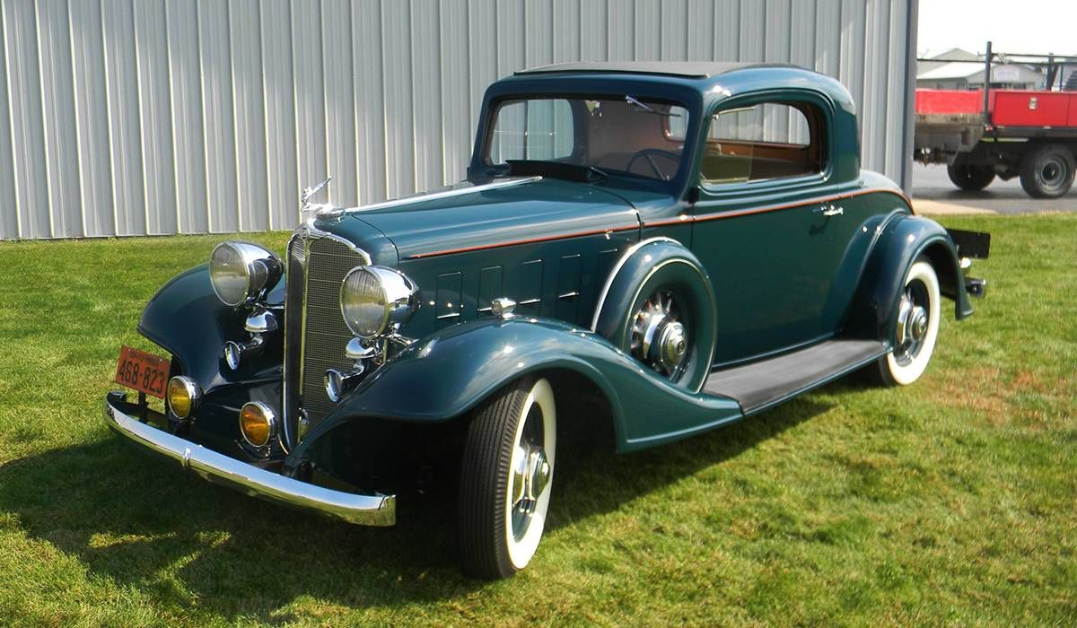 1933 Buick Rumble Seat Coupe | Vintage Cars | Pinterest | Vehicle ...