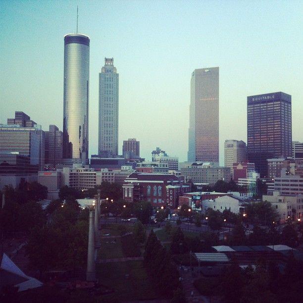 Atlanta Skyline, We Built This City, Del Norte