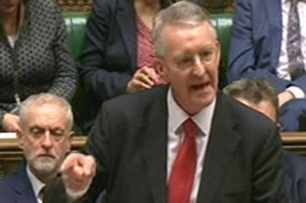 IN PUSHING through a vote on bombing Syria, David Cameron has pulled off a master stroke. Not only has he succeeded in targeting Daesh and civilians in Syria but he has conned Labour into tearing itself apart. To watch Hilary Benn make his 'speech