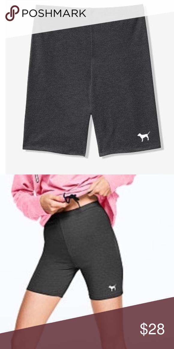 19df5b4d3a953 NIP VS Pink High Waist Cotton Bike Short Victoria's Secret Pink High ...