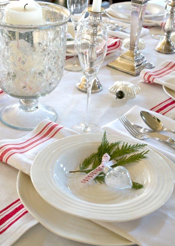 A Scandinavian Christmas Tablescape Christmas Tablescapes Scandinavian Christmas Holiday Table Settings