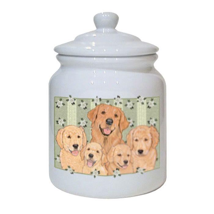 Treat Jar - Golden Retriever