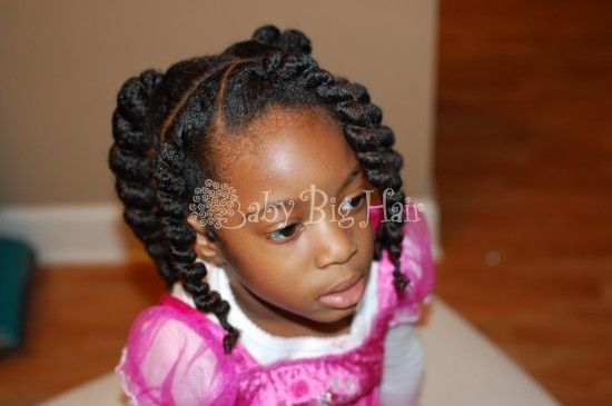 Baby Hair Styles Braids: Jumbo Ghana Plaits