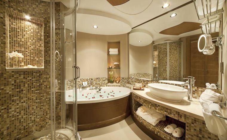 Modele Salle De Bain De Luxe Quelques Exemples Design Banheiro De Hotel De Luxo Lindos Banheiros Banheiros Master