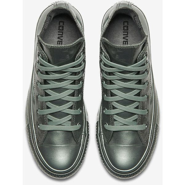 93836be6a17 Converse Chuck Taylor All Star Metallic Rubber High Top Women s Shoe.  (3.085 RUB) ❤ liked on Polyvore featuring shoes