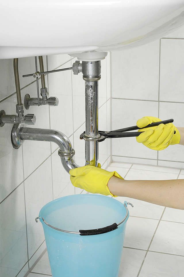 Siphon am Waschbecken lösen Siphon waschbecken