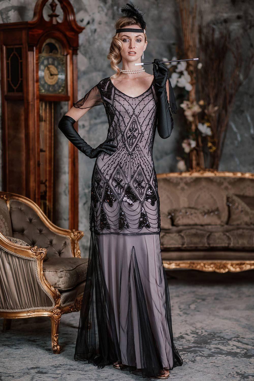 Pink 1920s Cap Sleeve Sequin Evening Dress In 2020 1920s Evening Dress 1920s Inspired Dresses Sequin Evening Dresses