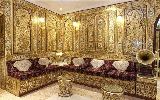صور ديكورات مجالس Moroccan Decor Arabian Decor Opulent Interiors