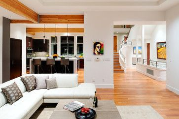 Mercer Island Residence - contemporary - living room - seattle - GDW/a pllc