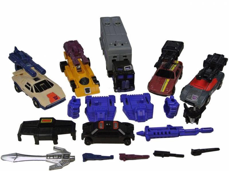 G1 Wildrider Gun Transformers Stunticon Menasor  Vintage