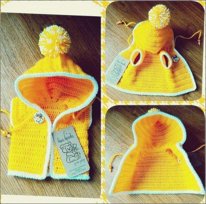 Photo of Strickjacke für Puppen und Spielzeug