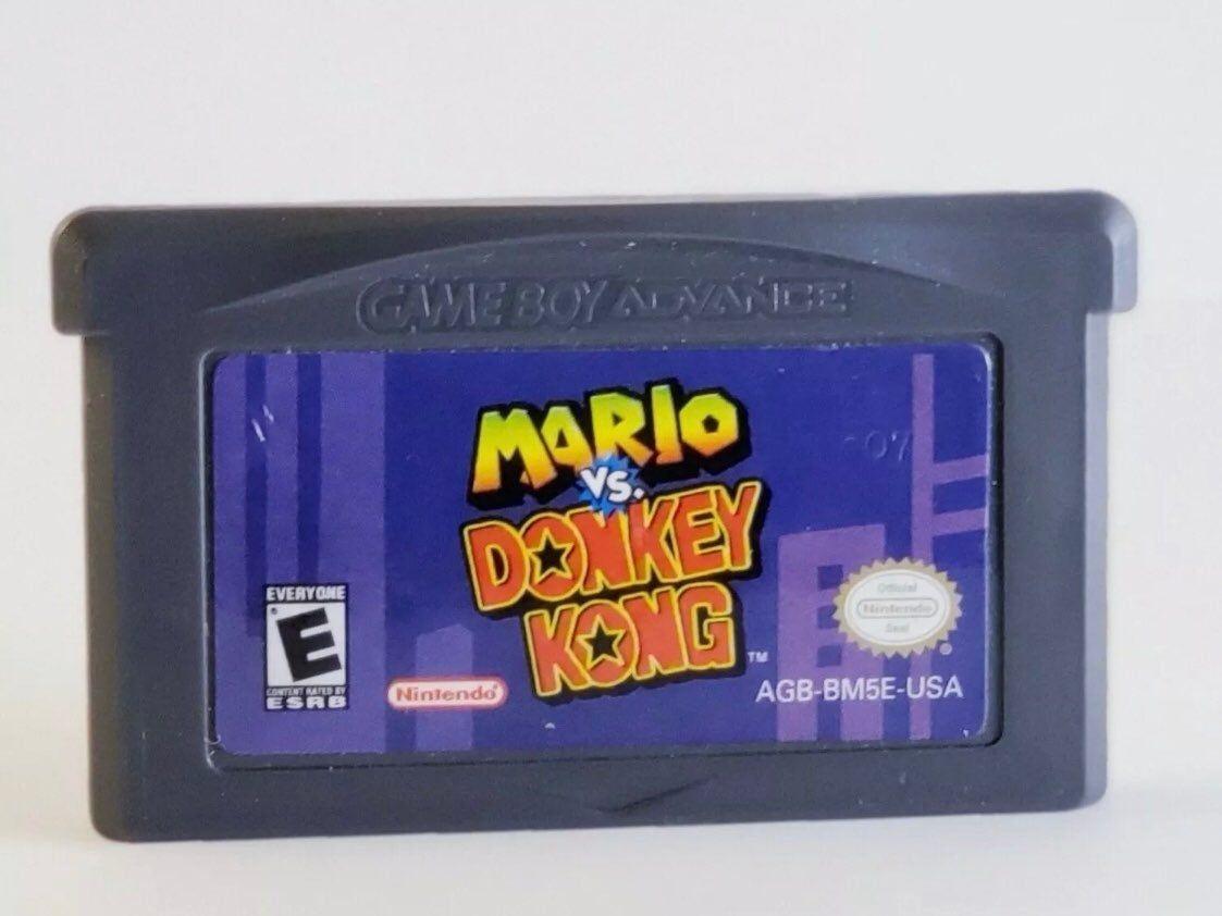 Mario vs Donkey Kong Nintendo Game Boy Advance Original