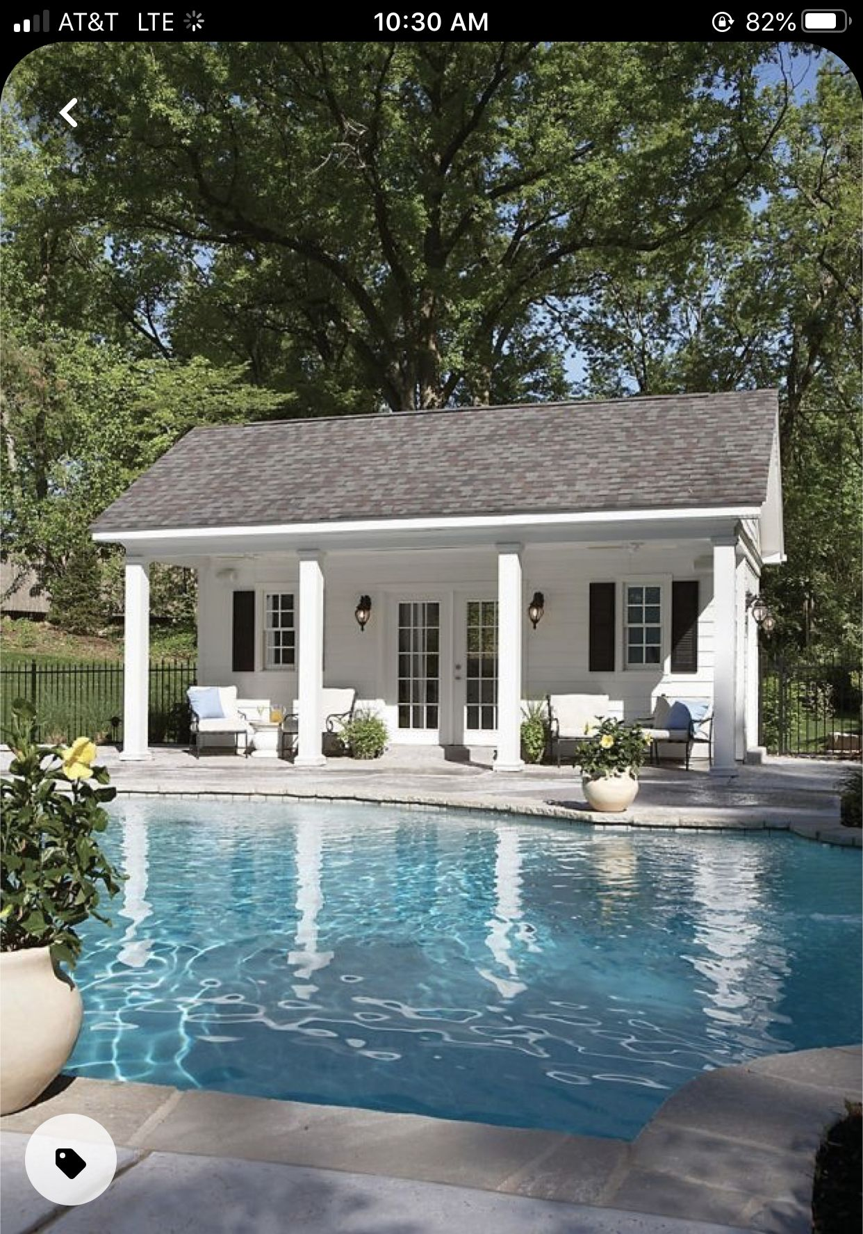 Pin By Anna Siebenhuener On Four Daughters Manor In 2020 Small Pool Houses Pool House Shed Pool House Designs