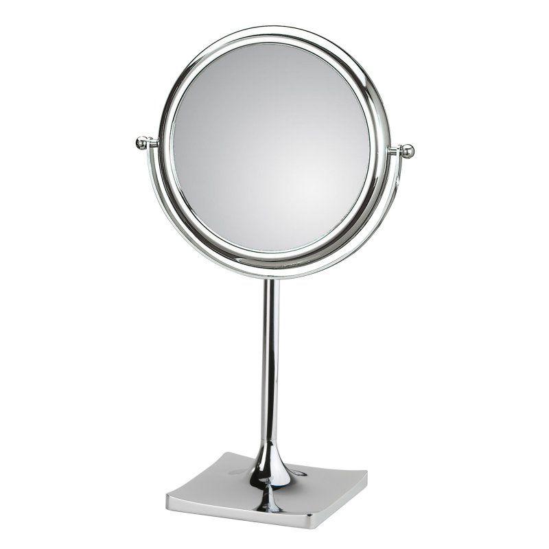 WS Bath Collections Doppiolo 46-1KK3 Magnifying Free Standing Mirror - DOPPIOLO 46-1KK3