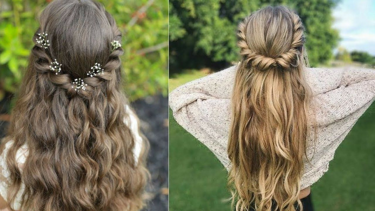 Latest simple self Hair style for ladies || Do It Self. #5 | Hair styles, Long hair styles, Easy ...