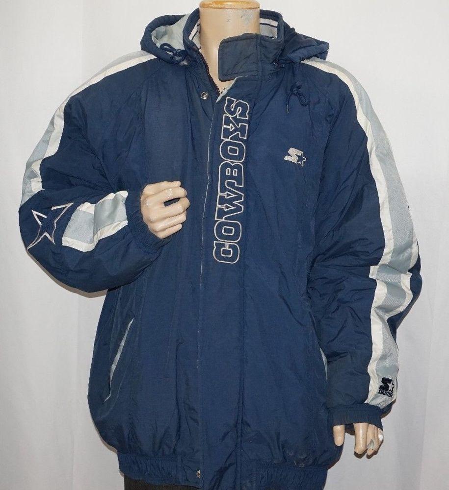 uk availability d7009 1ef6f Dallas Cowboys Men's XXL Starter Jacket Pro Line Vintage 90s ...