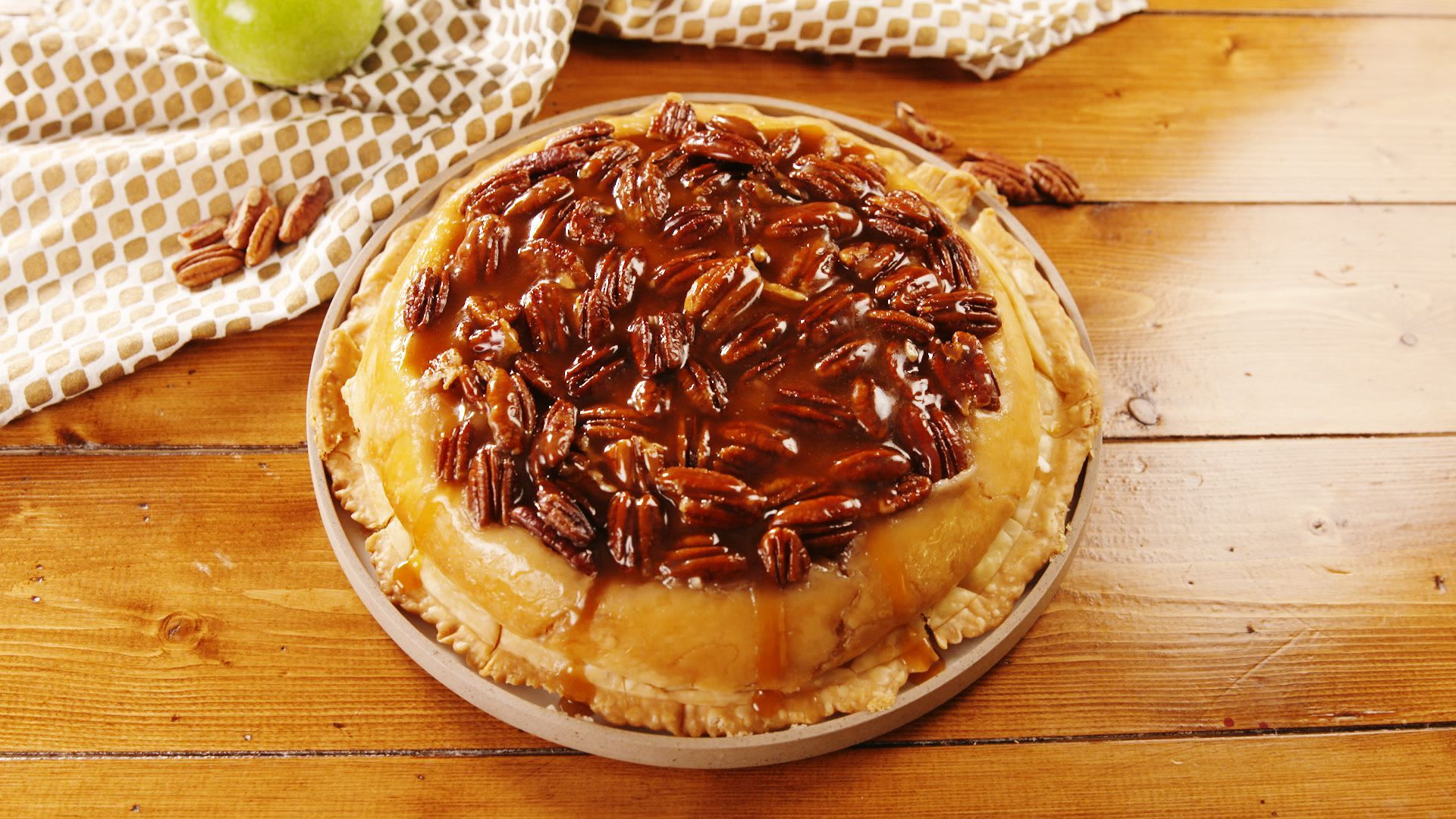 Upside Down Cheesecake Apple Pie Recipe Apple pie