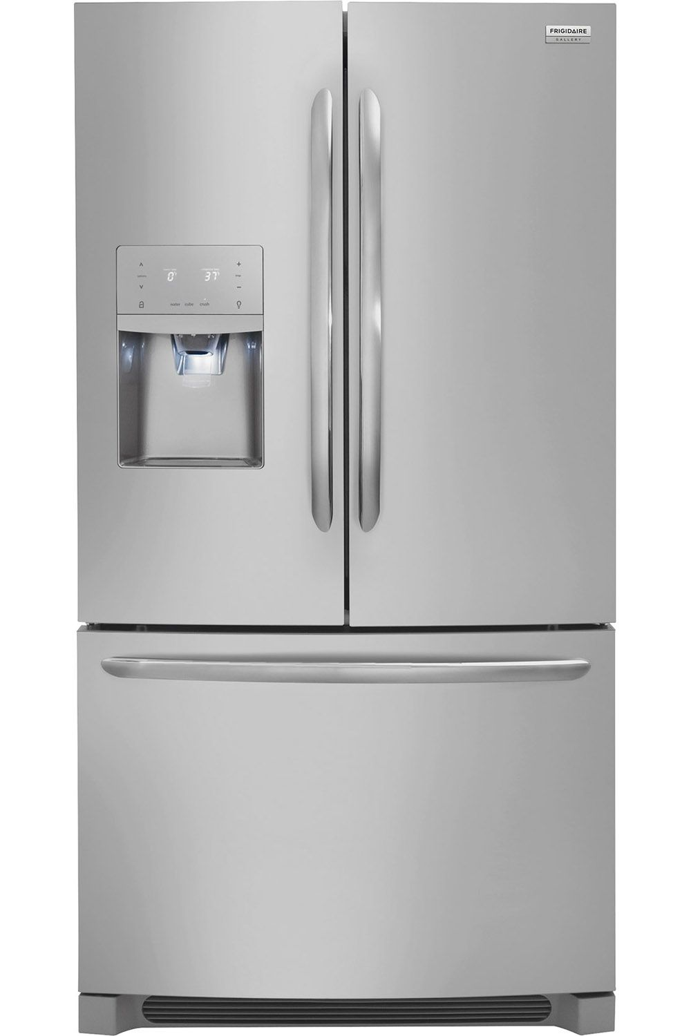 Frigidaire gallery 268 cu ft smudgeproof stainless