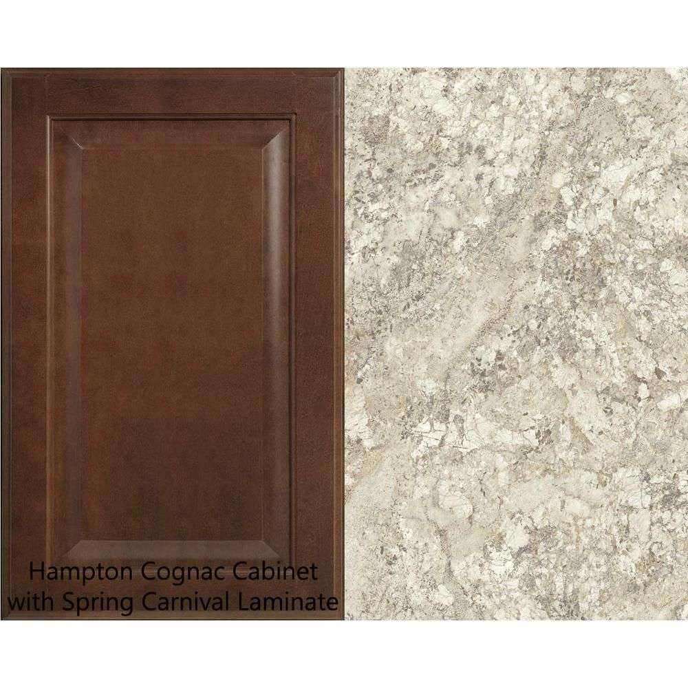Hampton Bay 8 Ft Laminate Countertop Kit In Spring Carnival