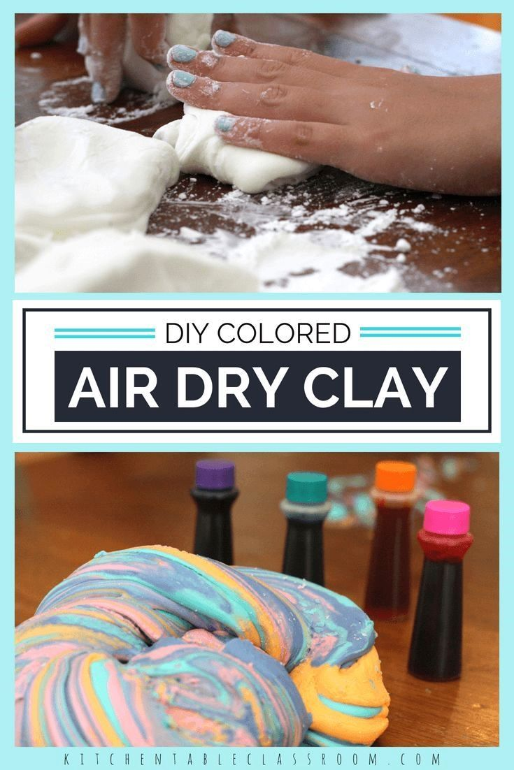 Pin by eanifatev on Diy and Crafts Diy clay, Air dry